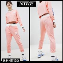 【Nike】Archive Logo Joggers ロゴ ジョガー パンツ ピンク ♪