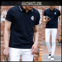 【MONCLER】18SS ダックパッチ ポロシャツ NAVY/安心追跡付