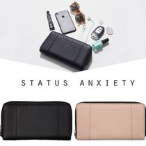 AUS発♥[Status Anxiety]ZIPつきのレザーWALLET
