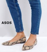 [ASOS]*LATCH* Pointed Ballet Flats*