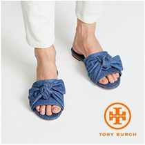 【TORY BURCH】ANNABELLE BOW SLIDE