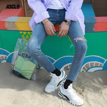 ★ASCLO★ AK darick denim pants