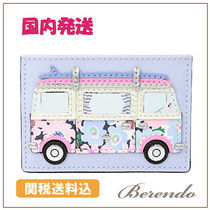 国内発送◆kate spade California Dreaming Surf Van カード入れ