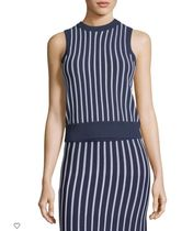 【人気商品】Vertical Striped Sleeveless Top