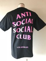 2018SS 送料無料!ANTI SOCIAL SOCIAL CLUB / LA Black City Tee