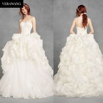 ★White by Vera Wang★ Tiered Organza★関税 送料込★