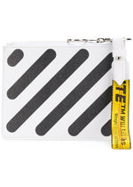 Off-White(オフホワイト) クラッチバッグ 【Off-White】VIPセール【DiagDoubleFlatPouch】