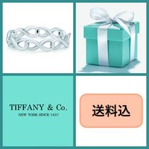 ■送料込■ TIFFANY & Co. TIFFANY INFINITY Narrow Band Ring♪