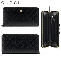 【正規品保証】GUCCI★18春夏★SIGNATURE ZIP AROUND WALLET