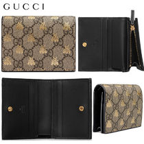 【正規品保証】GUCCI★18春夏★GG SUPREME BEEES CARD CASE