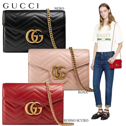 17c31ba0f32 BUYMA| 正規品保証 GUCCI☆18春夏☆GG MARMONT MATELASSE MINI BAG ...
