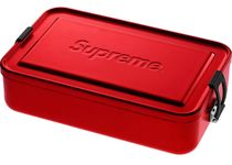 Supreme [Large] Metal Box Plus / RED Storage