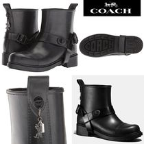 SALE!COACH ☆Moto Rainブーツ Rexyチャーム付き