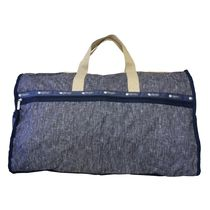 LeSportsac EXTRA LARGE WEEKENDER 7286 E127 FIELD DENIM