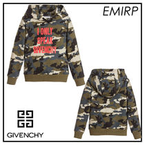 GIVENCHY☆大人もOK☆Mini-meカモフラ柄ロゴパーカー☆6-12Y