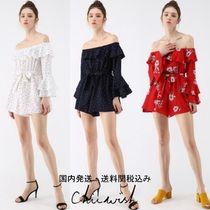 国内発・送関税込☆Chicwish☆Enchanting Off-Shoulder Playsuit