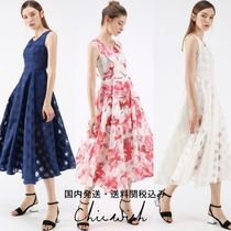 国内発送・送関税込☆Chicwish☆Gingham Organza Midi Dress