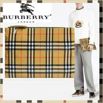 ☆Burberry 正規品_Vintage Check Pouch ☆関税・送料込み☆