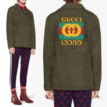GUCCI★PRIVATE SALE!コーティッド ジャケット Military Green