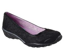 SKECHERS SAVVY - PLAY THE GAME BLACK/NATURAL 2colors