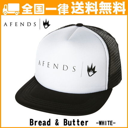 AFENDS アフェンズ 帽子 メッシュキャップ Bread and Butter