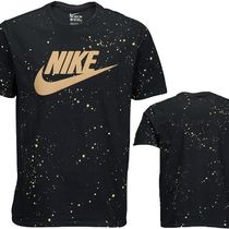 NIKE GRAPHIC T-SHIRT REFRACTIVE BLACK GOLD