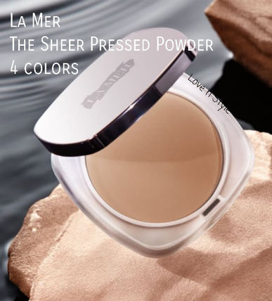 De La Mer VSモデル愛用 The Sheer Pressed Powder