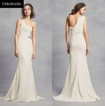 ★White by Vera Wang ★One-Shoulder Sheath 関税 送料込★