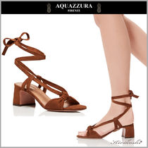 ◆AQUAZZURA 18SS最新作◆Delicieuse Sandal◆レースアップBR◆