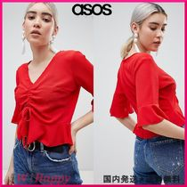 ★ASOS Boohoo Ruched Front Top
