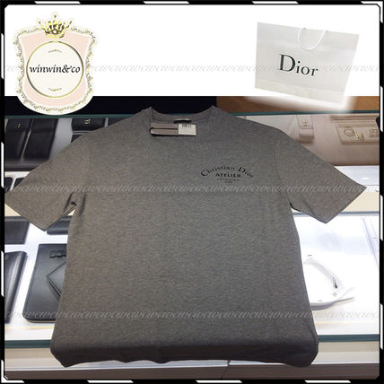 Dior Tシャツ・カットソー 国内発送◆DIOR メンズ 1着は欲しい!人気ロゴTシャツ