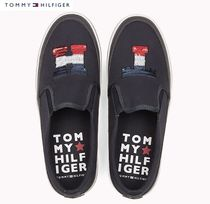【Tommy Hilfiger】PLATEAU SNEAKER WITH SEQUINS