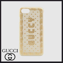 GUCCY プリント iPhone 7 ケース★GUCCI★