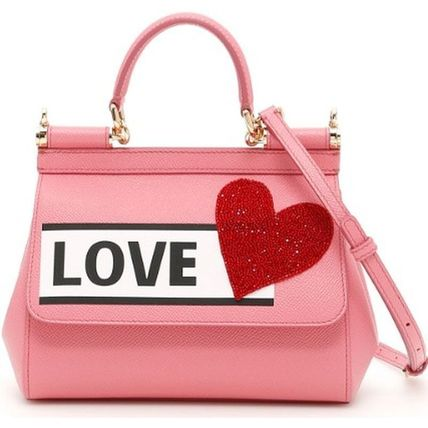 DOLCE & GABBANA Small Sicily Bag Heart BB6003AS499
