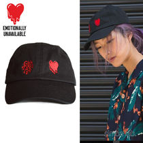 Emotionally Unavailable(エモーショナリー) キャップ 【入手困難】 EU × Verdy Girls Don't Cry Dad Cap キャップ