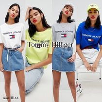 ◆NEW◆Tommy Jeans◆90S フラッグロゴ Tシャツ 4色