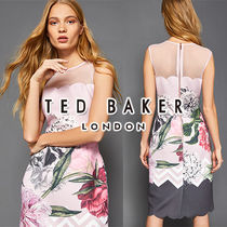 "【TED BAKER】2018 SS新作 ""ARIONAH"" ノースリーブドレス 関税込"