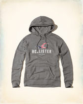 【Hollister】ホリスター NYLogo Graphic Hoodie 国内発送