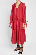 See by Chloe(シーバイクロエ) Dress in Cotton  Silkドレス