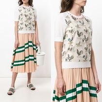 ∞∞CARVEN∞∞ cockerel patterned Tシャツ☆ホワイト