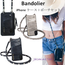 ★ケース+ポーチセット♪★Bandolier Sarah Wave iPhone6/7(+)