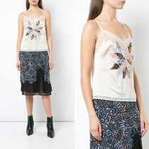 ∞∞Coach∞∞ quilted patchwork camisole☆ホワイト