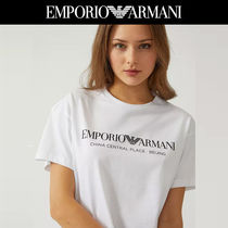 【EMPORIO ARMANI】China Central Place Beijing ロゴ Tシャツ