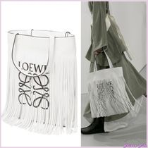 【18SS NEW】LOEWE_women / Vertical Tote / トートバッグ WHT