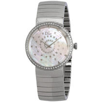 稀少 Dior(ディオール) Mother of Pearl Diamond Dial Ladies