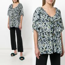 ∞∞See by Chloe∞∞ ruffled floral-print ブラウス