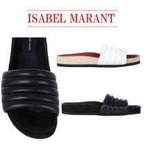 【Isabel Marant】Hellea slide sandals/ quilted nappa leather