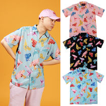 A PIECE OF CAKE(ピースオブケイク) シャツ ★A PIECE OF CAKE★総柄シャツ Watergun HawaiianShirts【3色】