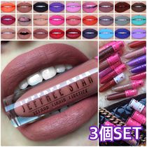 Jeffree Star Cosmetics(ジェフリースター) リップグロス・口紅 Jeffree Star Cosmetics VELOUR LIQUID LIPSTICK 3個セット