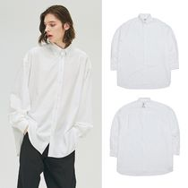 add(エーディーディー) シャツ ☆ADD☆ AVANTGARDE OVERSIZED SHIRTS WHITE